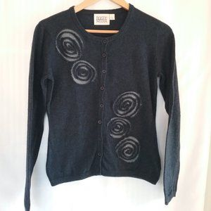 Anthropologie, Rosie Neira Navy Cardigan. Medium.